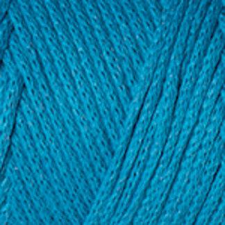 Macrame Cotton YarnArt - голубая бирюза 763