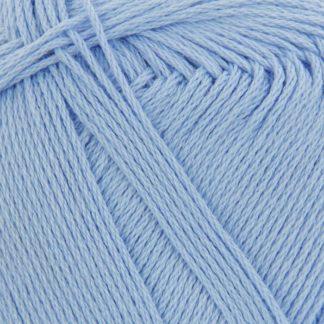 Хлопок натуральный Пехорка - голубой 05
