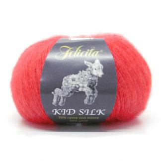 Kid Silk Felicita - алый 9053