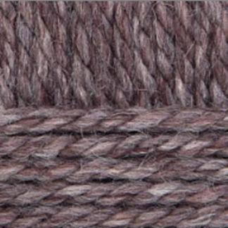 Перуанская альпака Пехорка - коричневый меланж 517
