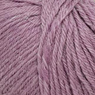 Перуанская альпака Пехорка - сирень меланж 1089