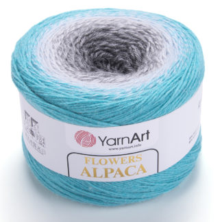 Flowers Alpaca YarnArt - 412