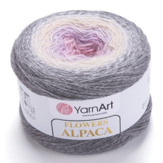 Flowers Alpaca YarnArt - 413