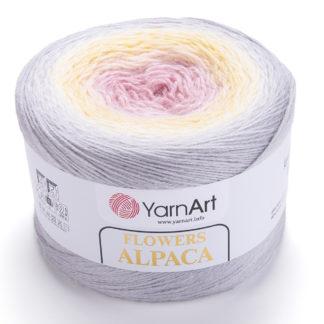 Flowers Alpaca YarnArt - 404