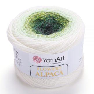 Flowers Alpaca YarnArt - 401