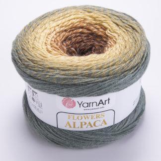 Flowers Alpaca YarnArt - 416
