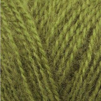 Angora Real 40 Alize - оливковый 758