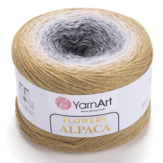 Flowers Alpaca YarnArt - 411