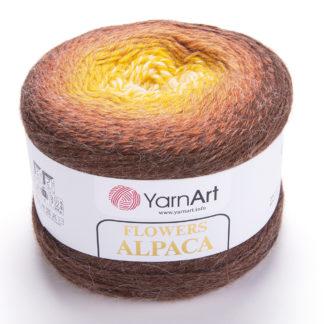 Flowers Alpaca YarnArt - 437